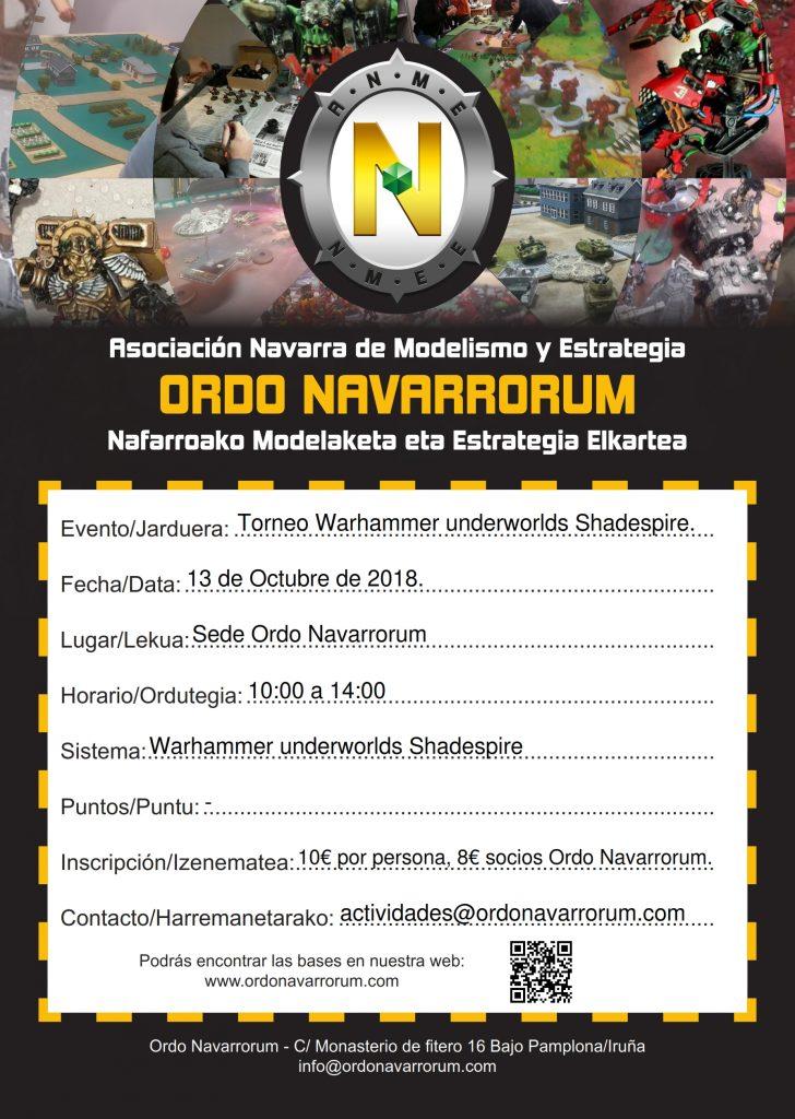 Torneo Shadespire 3er Aniversario Ordo Navarrorum @ Asociación Ordo Navarrorum